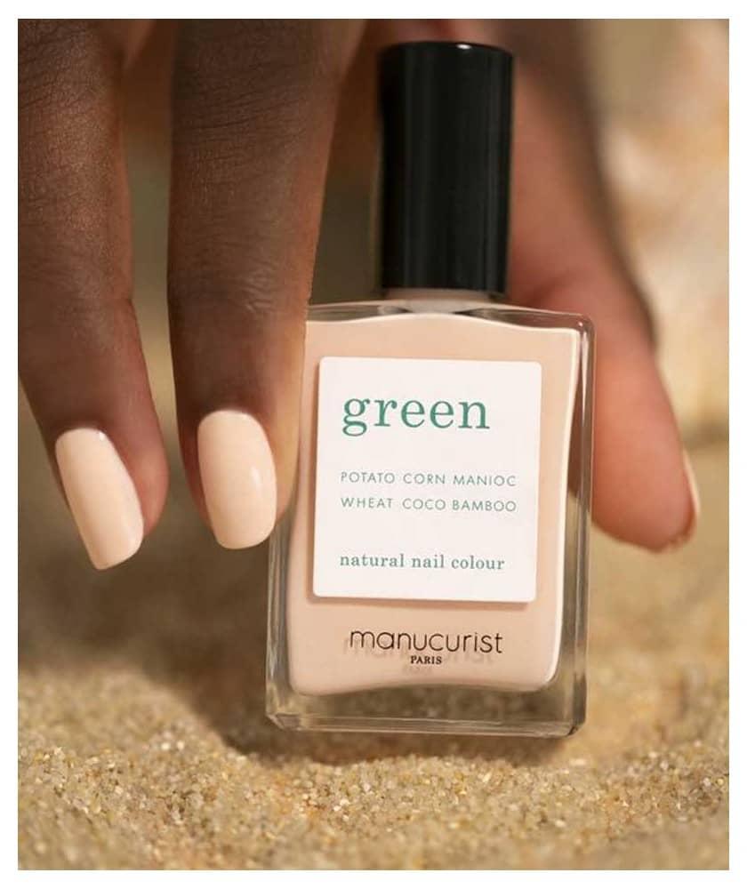 MANUCURIST PARIS Vernis GREEN Pastel Pink