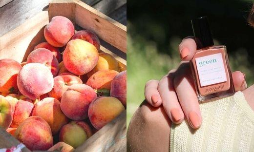 Manucurist vernis Green Peach pastel été l'Officina Paris