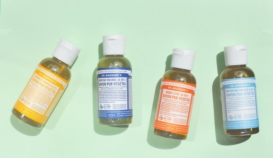 Dr. Bronner's liquid soap travel size Naturel Body care