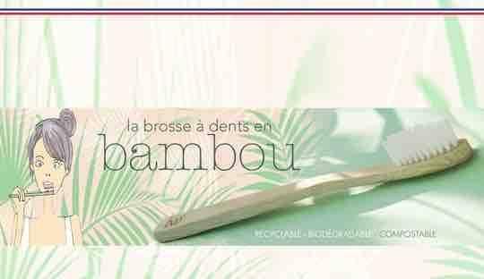 Bamboo Toothbrush My BOO Company