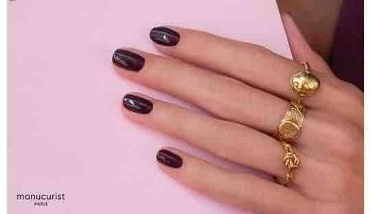 Nail polish Green Manucurist Winter colors