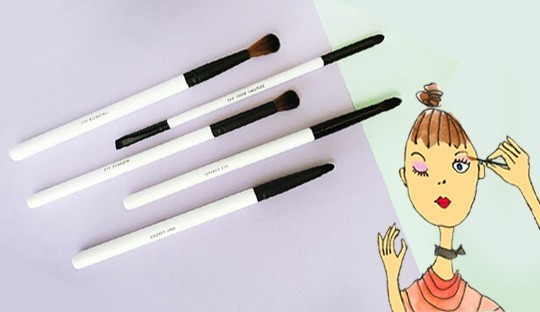 Eye Brushes Lily Lolo