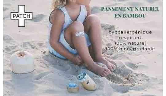 PATCH pansement adhésif naturel en bambou peau sensible