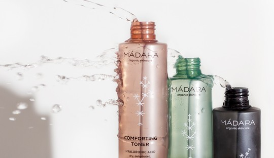 Organic cosmetics Madara toners