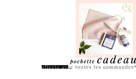 l'Officina Paris - cosmétiques naturels et bio - Pochette offerte