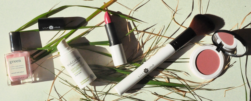 Lily Lolo Manucurist Madara maquillage bio naturel vernis Green Blush minéral mascara
