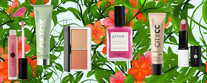 Manucurist Green garden nail polish spring summer collection natural beauty
