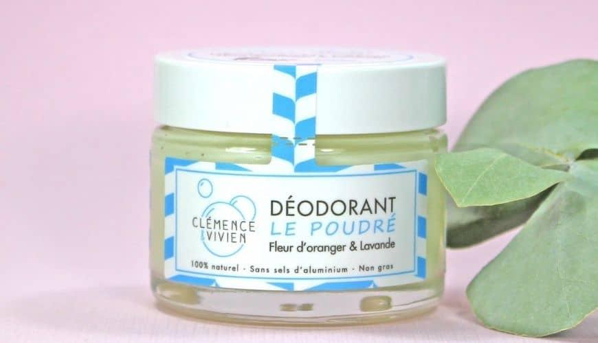 Clémence & Vivien Déodorant crème bio Cosmétique naturelle E-Shop l'Officina Paris