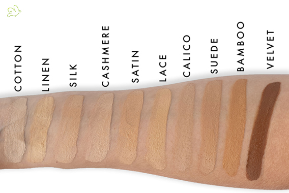 Lily Lolo cream foundation mineral cosmetics swatch natural beauty
