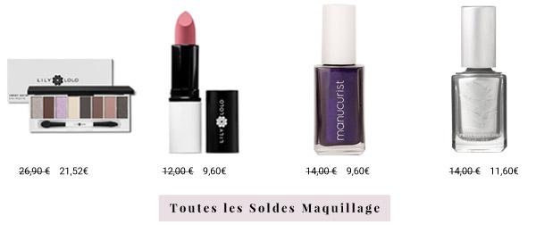 Toutes les Soldes Maquillage