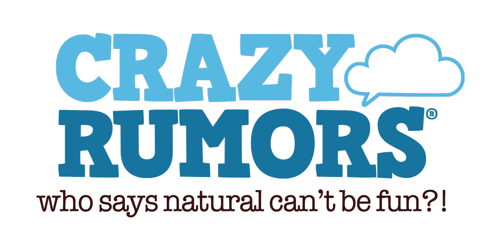 Crazy Rumors Natural Lip balm vegan organic cosmetics USA Logo
