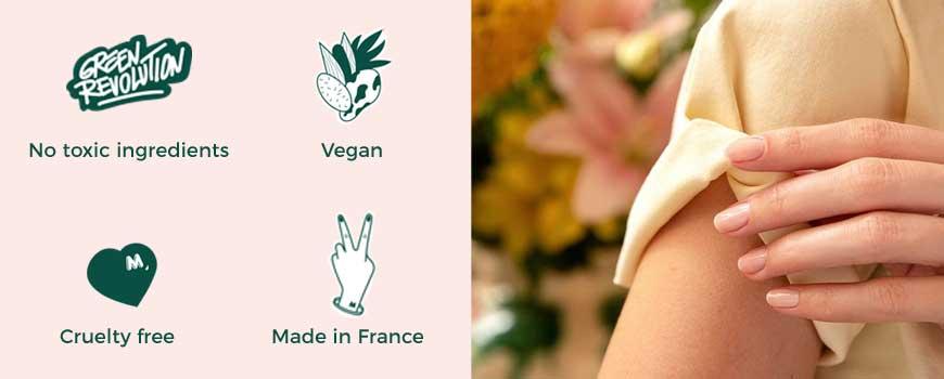 Manucurist vernis Green vegan naturel beauté clean made in France