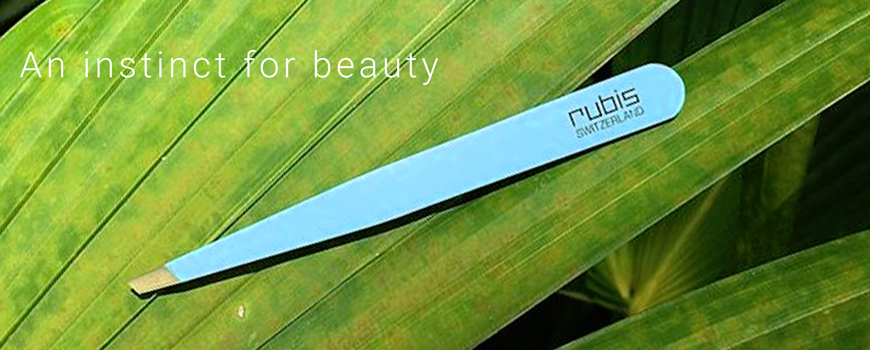 Rubis Switzerland Beauty Tweezers Eyebrows