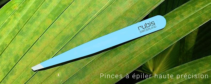 RUBIS Switzerland Pinces à Épiler Sourcils Haut de gamme professionnel beauté cosmétique