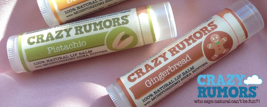 Soin Lèvres Baume Stick cosmétique bio naturel green vegan beauté Crazy Rumors parfum hydrater nourrir protéger