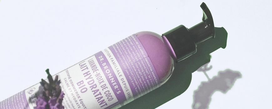 Dr. Bronner's Magic Soaps - Lait hydratant lavande coco - cosmétiques green et vegan