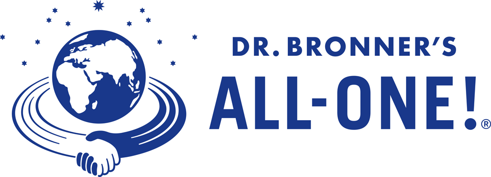 Logo Dr. Bronner's All One savon Magic Soaps organic natural cosmetics fair trade green buy online now shop