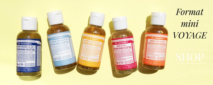 Dr. Bronner's organic soap magic natural fair trade vegan cosmetics
