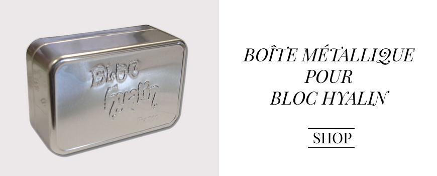 Féret Parfumeur Boite Bloc Hyalin Beauté rétro Made in France