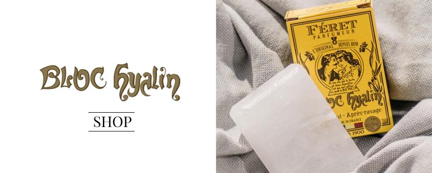 Acheter Bloc Hyalin l'Original Pierre d'alun naturelle Féret Parfumeur