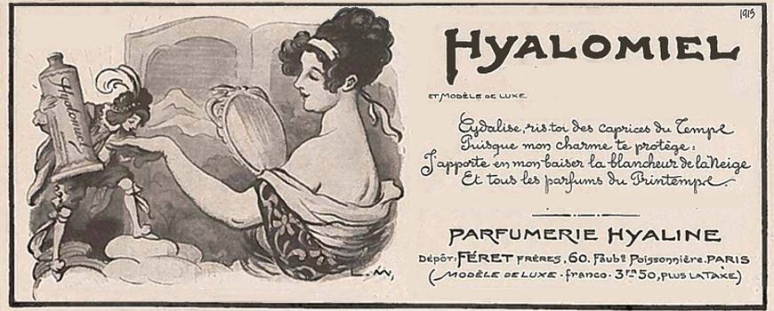 Féret Parfumeur Hyalomiel Gelée mains au miel bio Parfum rose poudrée Made in France