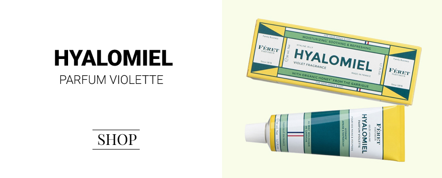 Féret Parfumeur Hyalomiel crème mains Parfum Violette cosmétique bio naturel peau sensible Made in France