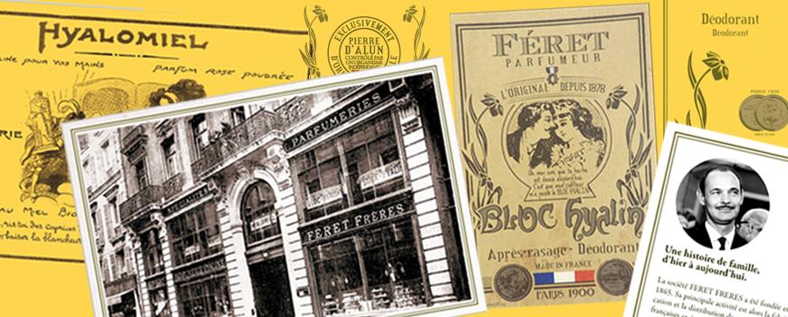 Féret Parfumeur history french perfumery hyalomiel bloc hyalin hand cream candle body lotion