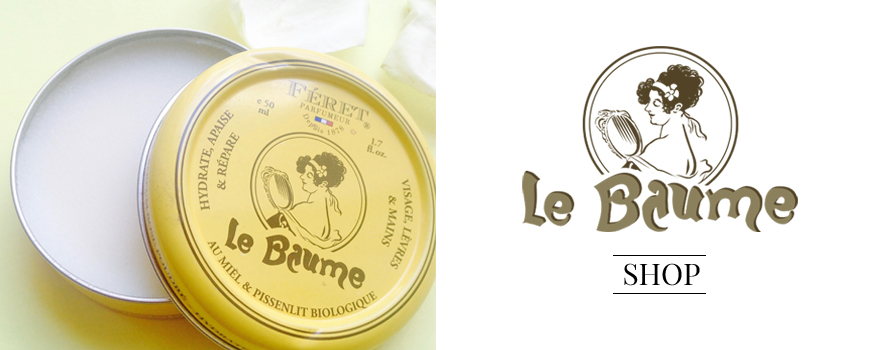 Le Baume Féret Parfumeur au miel bio 100% naturel  Acheter Made in France