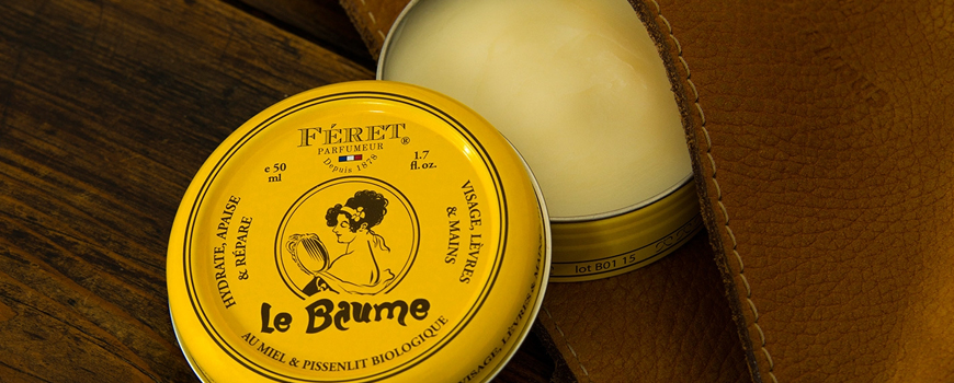 Féret Parfumeur the Balm le Baume for hand, lips, face 100% natural Made in France buy now