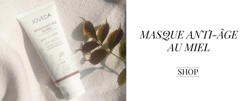 Joveda Masque Anti- Âge au Miel naturel hydratant JOVEDA