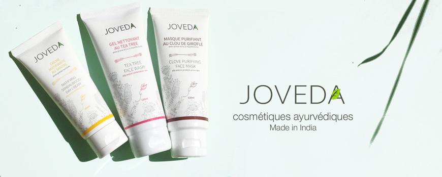 Joveda cosmétique ayurvédique made India naturel végétal soin visage peau acnéique sensible jovees plantes green beauté teint tea tree