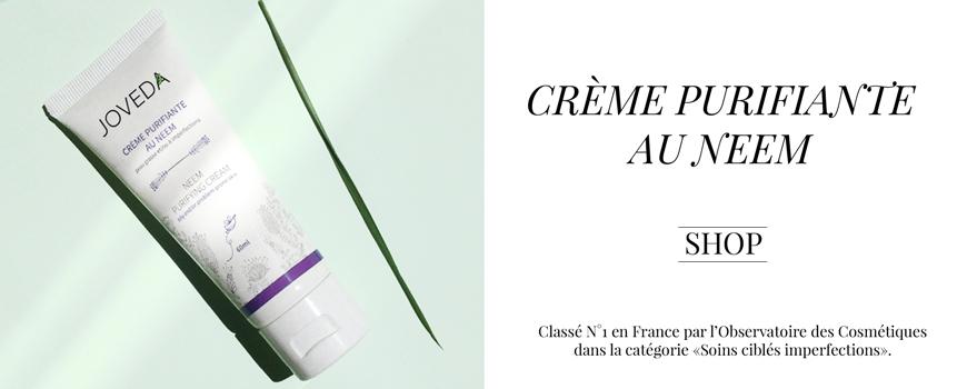 JOVEDA Crème purifiante au Neem anti-imperfections  acne