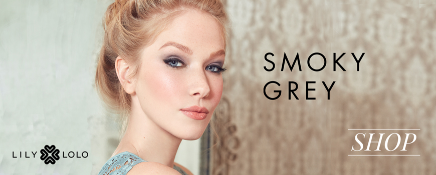 Lily Lolo mineral cosmetics Look Smoky Grey eye shadow makeup beauty naturel vegan
