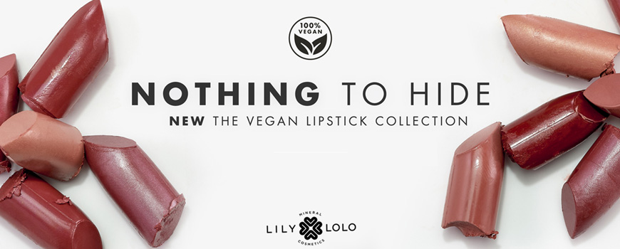 Lily Lolo mineral cosmetics Vegan Lipstick Nothing to hide