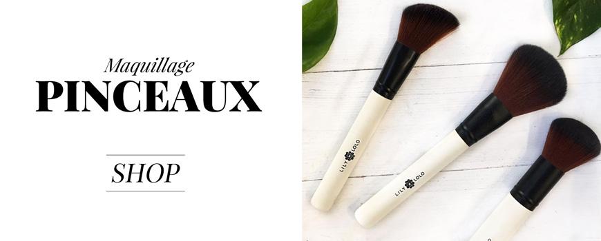 Lily Lolo maquillage minéral Pinceaux accessoires beauté naturelle