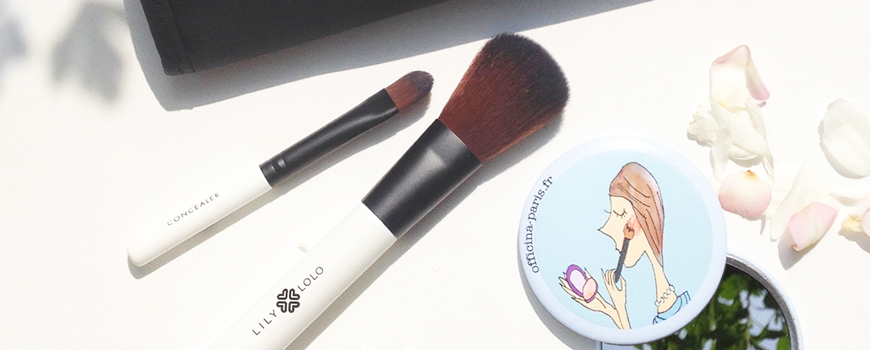 Lily Lolo mineral cosmetics makeup brushes L'Officina Paris natural beauty vegan