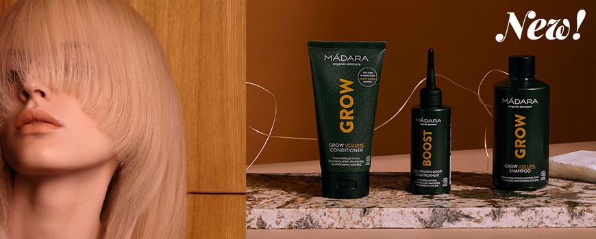 Madara cosmetics Naturkosmetik Haarpflege Shampoo Spülung green beauty Ecocert vegan