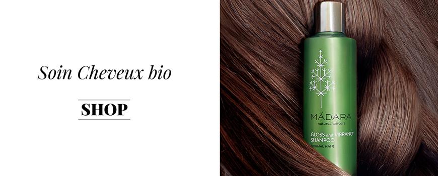 Madara shampooing bio naturel cosmétique beauté green cheveux végétal naturel sensible plantes baltique Ecocert vegan teint
