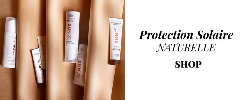 Madara cosmétique bio Crème Solaire protection SPF naturelle minérale certifiée beauté green végétale Visage corps baltique Ecocert vegan
