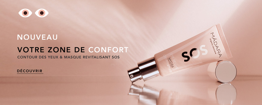 Madara cosmétique Contour Yeux Masque Revitalisant SOS Hydra anti fatigue bio beauté naturelle vegan