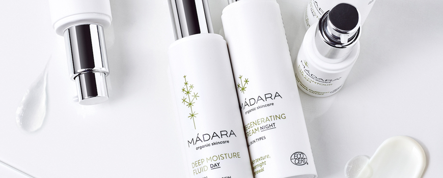 MADARA organic cosmetics Deep Moisture Fluid Cream Ecocert Natural beauty