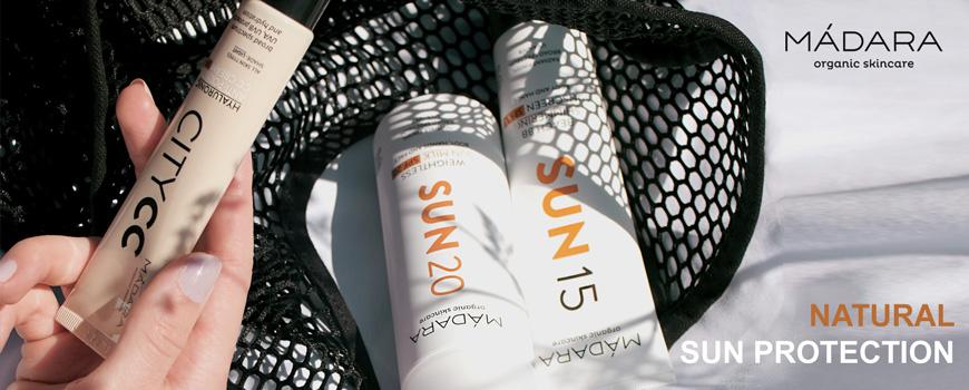 MADARA cosmetics Natural Sun Protection SPF certified