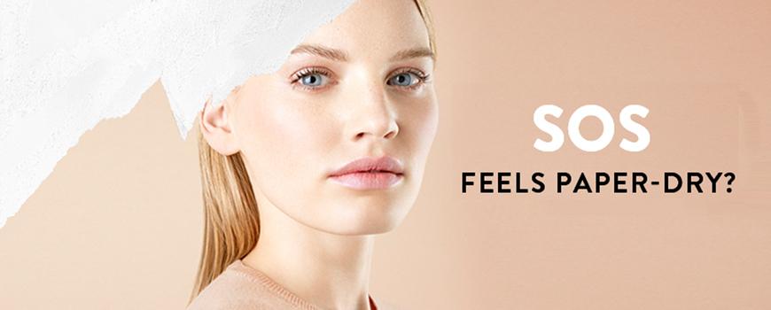 Madara cosmetics SOS Hydration cream serum mask Skin Care for dehydrated skin