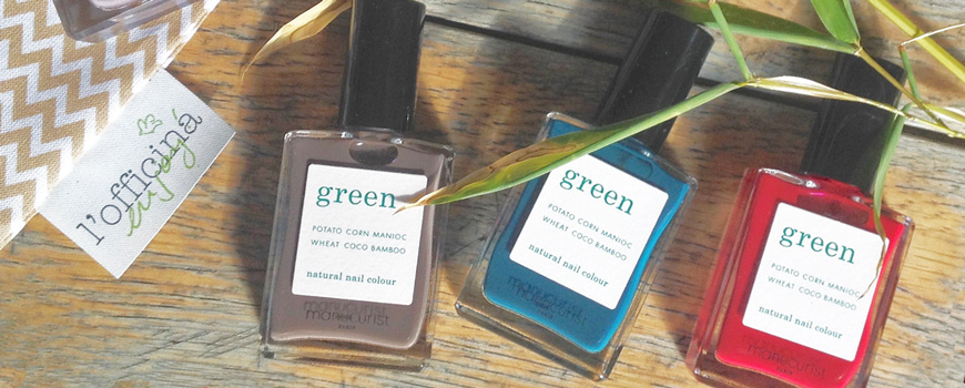 Manucurist Green vernis naturel ongles vegan cruelty free Made in France