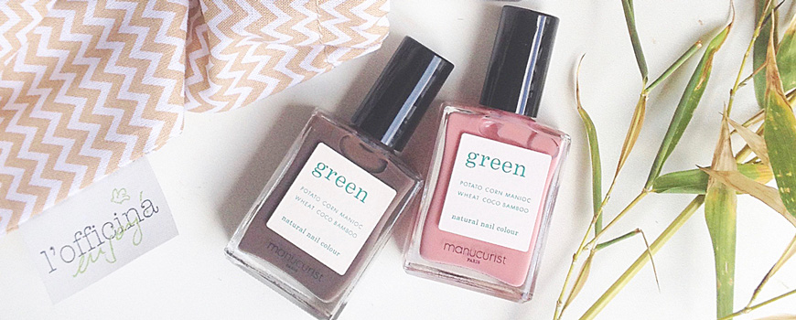Manucurist Green Vernis naturel ongles France vegan cruelty free