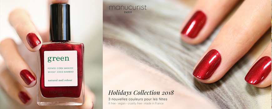 Vernis ongles naturel Green Manucurist Paris non-toxique beauté maquillage Priti NYC cosmétique vegan made in France