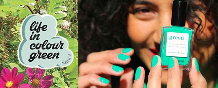 Manucurist Green Garden printemps été 2019 Vernis naturel ongles France vegan cruelty free