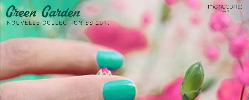 Manucurist GREEN Garden spring summer 2019 natural nail polish non toxic vegan 9 free made in France