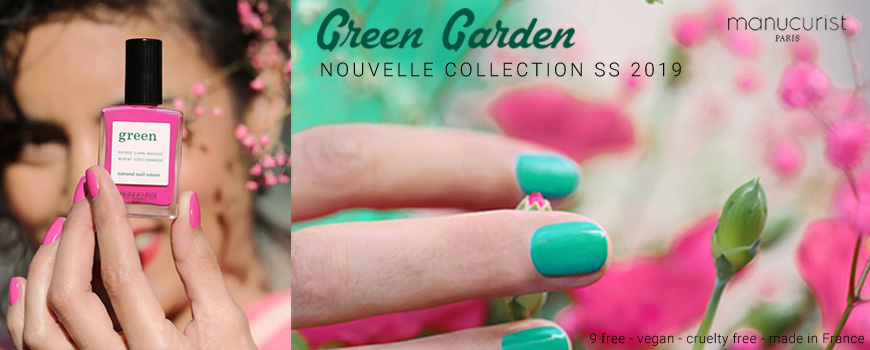 Manucurist Green Garden Spring Summer 2019 natural ail color