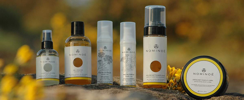 Nominoe - Organic face and body care from Brittany